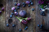 foto of aubergines  - Purple color in vegetables  - JPG