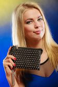 pic of clutch  - Fashion elegant evening outfit - JPG