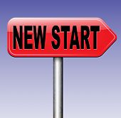 stock photo of start over  - start over with a new life or play the game again and have a new fresh game - JPG