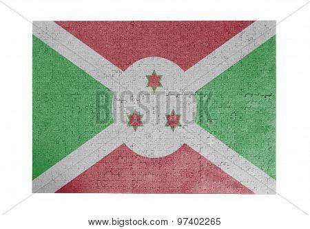 Large Jigsaw Puzzle Of 1000 Pieces - Burundi