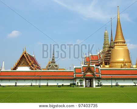 Temple of Emerald Buddha, Thailand.