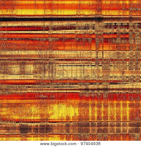 Background with grunge stains. With different color patterns: yellow (beige); brown; red (orange); black