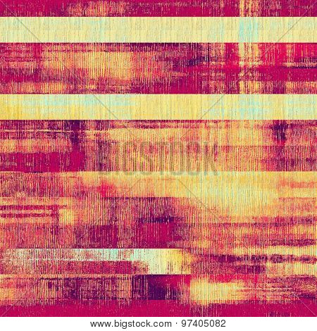 Grunge, vintage old background. With different color patterns: yellow (beige); purple (violet); cyan; red (orange)