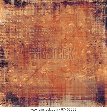Vintage spotted textured background. With different color patterns: yellow (beige); brown; purple (violet); red (orange)