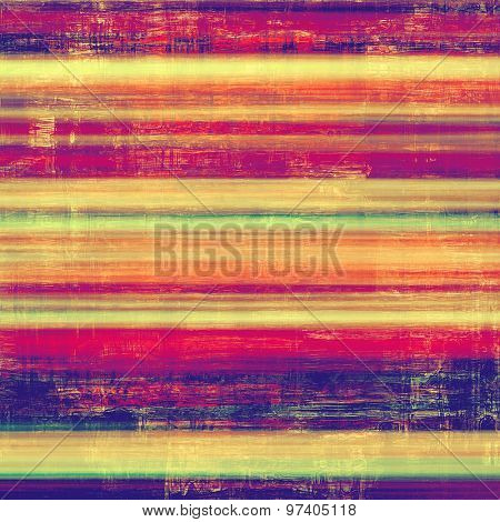 Vintage texture with space for text or image, grunge background. With different color patterns: yellow (beige); purple (violet); green; red (orange)