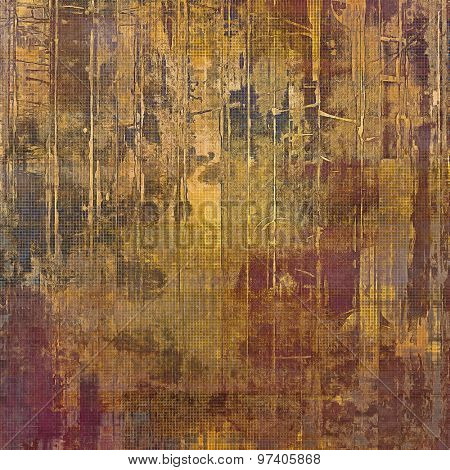 Vintage texture with space for text or image, grunge background. With different color patterns: yellow (beige); brown; purple (violet); gray
