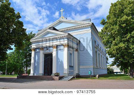 Hamina, Finland.  Lutheran Church