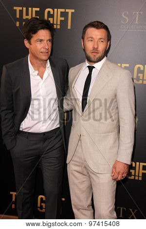 LOS ANGELES - JUL 30:  Jason Bateman, Joel Edgerton at the