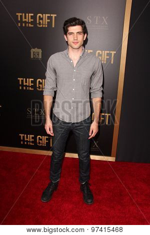 LOS ANGELES - JUL 30:  Carter Jenkins at the