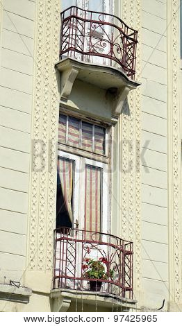 Balcony In Bitola Macedonia
