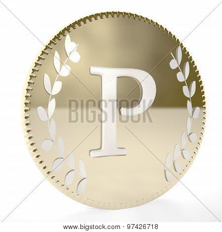 Coin P