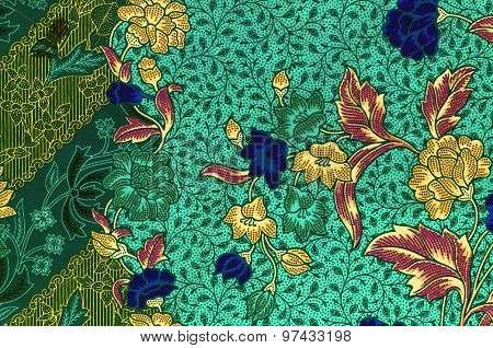 Traditional Batik Sarong.