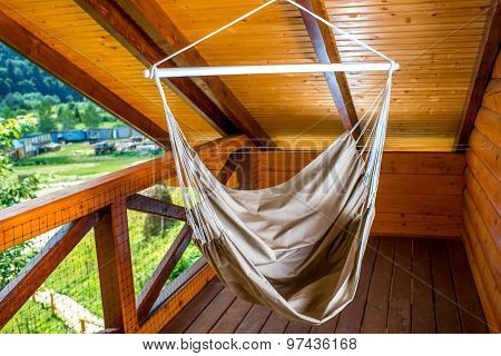 Hammock on the balcony