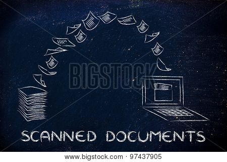 Scanned Documents: Scanning Paper And Turning It Into Data