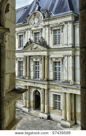 Renaissance Castle Of Blois In Loir Et Cher