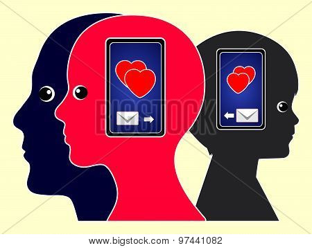 Love Messages With Cell Phones