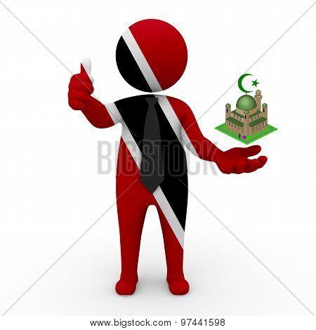 3d businessman people Trinidad and Tobago - Muslim mosque and Islam in Trinidad and Tobago