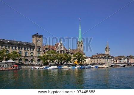 Limmat Riverside in Zurich