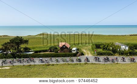 The Peloton In Normandy - Tour De France 2015