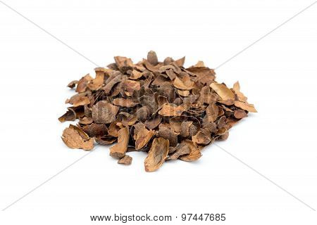 Heap Of Loose Empty Cacao Shells