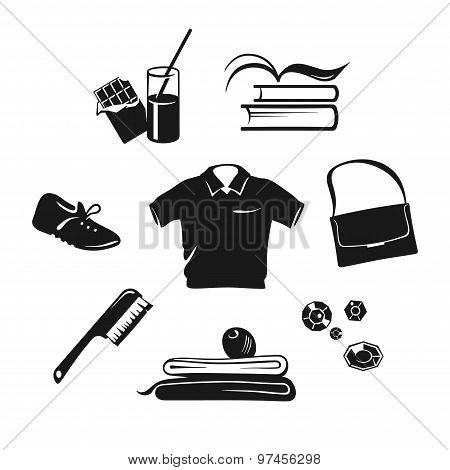 Sport and dancing wear, nutrition and accessories