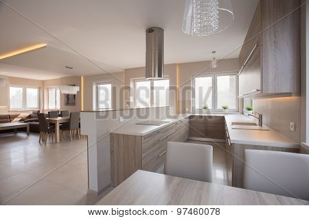 Modern Bright Spacious Interior