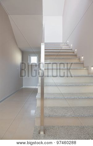 Marble Stairs In Storey House