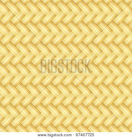 Wooden Striped Textured Background, Wicker Pattern