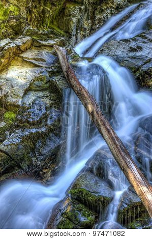 Cascading Snow Creek Falls.