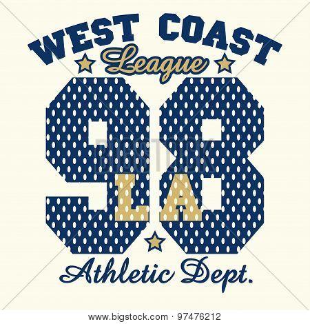 Los Angeles graphic Print