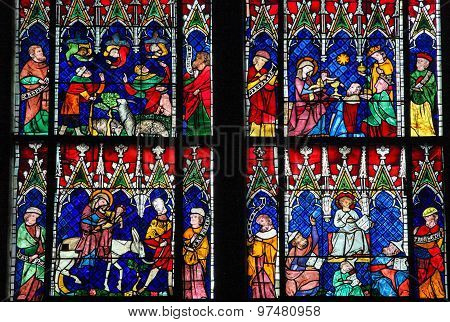 Stained Glass - Various New Testament Scenes
