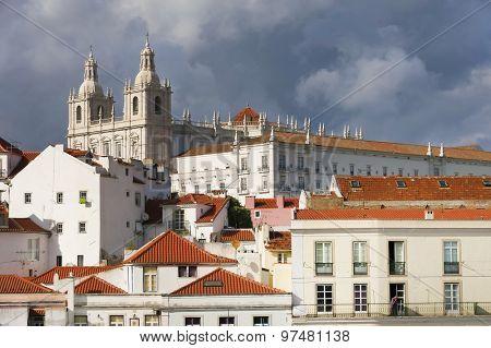 Panorama of Lisbon, Portugal, Europe