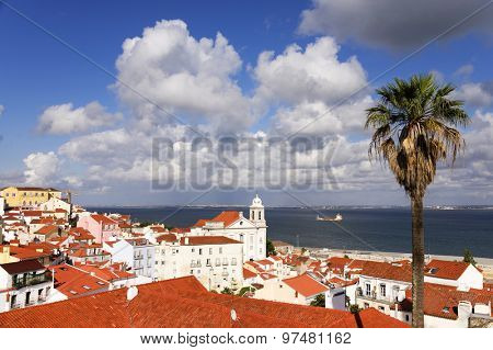 Panorama of Lisbon, Portugal, Europe