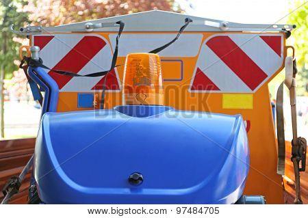 Road Works Vehicle