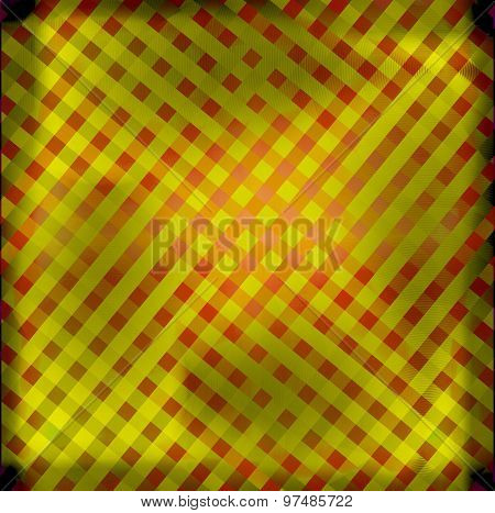 Pattern grid yellow