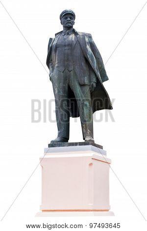 Lenin On Isolated Background
