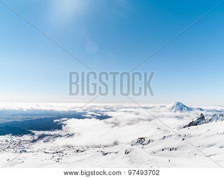 Mt Ruapehu, New Zealand.