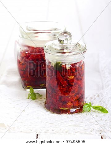 Sun Dried Tomatoes With Herbs