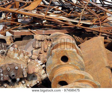Large Scrap Iron Chunks
