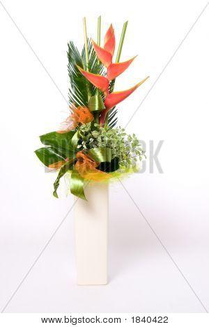 Flowerpot Full Of Flowers