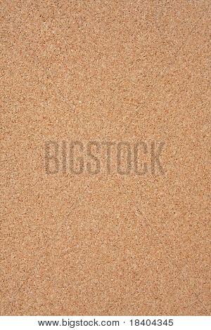 empty cork memo board, background