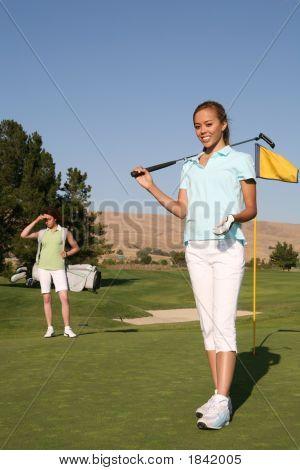 Pretty Golfer