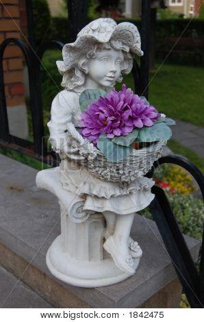 Girl Garden Ornament