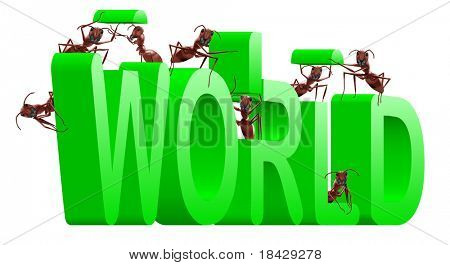ants building a green world an ecological and greener planet nature improvement