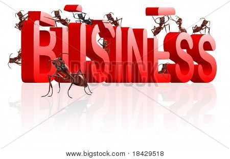 ants building business strategy in word make your company build business start internet business