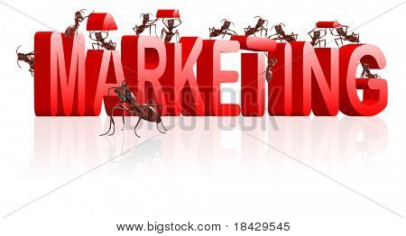 marketing or market strategy building positioning and targeting product towards clients