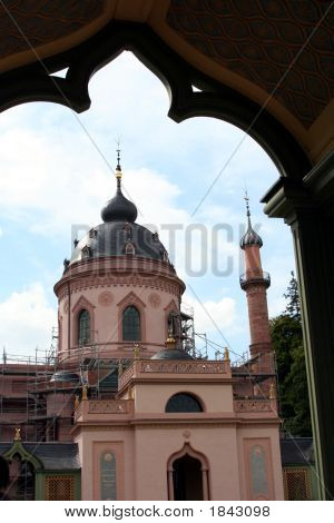 The Mosque, Schwetzingen Castle (Summer Palace) And Garden, Germany