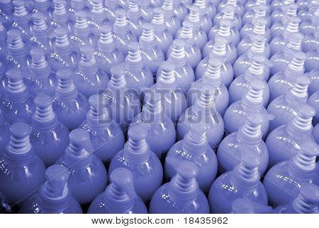 plastic bottles (texture)