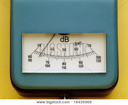 instrument for decibel measure