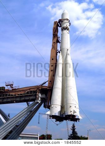 Carrier Rocket For The First Ever Spacecraft Vostok